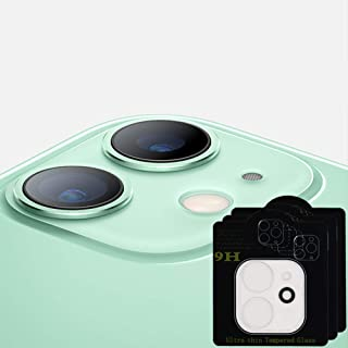 Pardans 3 Pcs Camera Lens Protective Film for Iphone 11 Phone, Screen Protectors Tempered Glass Screen Protector, Easy Ins...