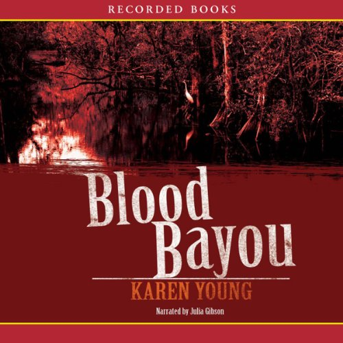 Blood Bayou audiobook cover art