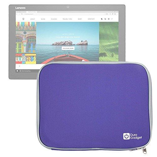 DURAGADGET Funda Morada De Neopreno para Tablet ASUS Transformer Pro T304 / DELL Latitude 5285, 5825, Lenovo Miix 720, X1 Tablet (2017), Yoga Book 12.2' - Resistente Al Agua
