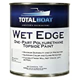 TotalBoat Wet Edge Marine Topside Paint for Boats,...