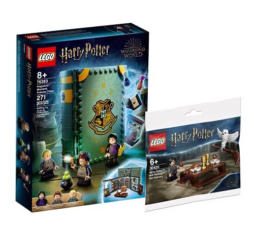 Collectix Lego Harry Potter 76383 - Juego de cartas y postres de Harry Potter y Hedwig: entrega 30420 (bolsa de plástico)