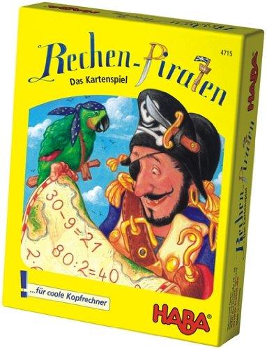 4715 - HABA - Rechen-Piraten - das Kartenspiel