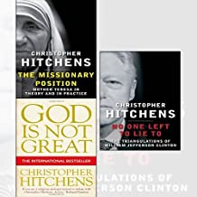 Christopher Hitchens 3 Books Collection Set - The Missionary Position,God Is Not Great,No One Left to Lie To