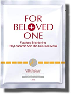 Sponsored Ad - FOR BELOVED ONE Flawless Ethyl Ascorbic Acid Bio-Cellulose Facial Treatment Mask (33g x 1pc)