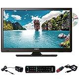 ANTARION TV LED 24' 60cm Téléviseur Full HD DVD intégré Compatible 12V