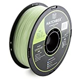 HATCHBOX ABS 3D Printer Filament, Dimensional Accuracy +/- 0.03 mm, 1 kg Spool, 1.75 mm, Glow in the Dark