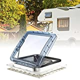 PaNt Ventilateur de Toit 12V Ventilation Camping Car Fenêtre avec Thermostat Et Mastic Camping Car Fenêtre...
