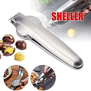 Ambility Chestnut Clip Nut Cracker Walnut Pliers Metal Nut Opener Plier Heavy Duty Nutcracker Pecan Walnut Plier Opener Tool Stainless Steel Kitchen Tools for All Nuts, Walnut, Almonds, Pecan