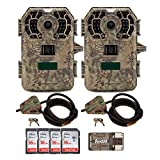 Stealth Cam (2) G42NG No-Glo Trail Game Cameras 10MP