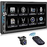 PLZ MP-902 Double Din Car Stereo ,7 Inch Full HD...