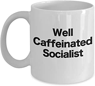 Socialism Coffee Mug Funny Novelty Gift for Socialist Liberal Marx Lenin Stalin