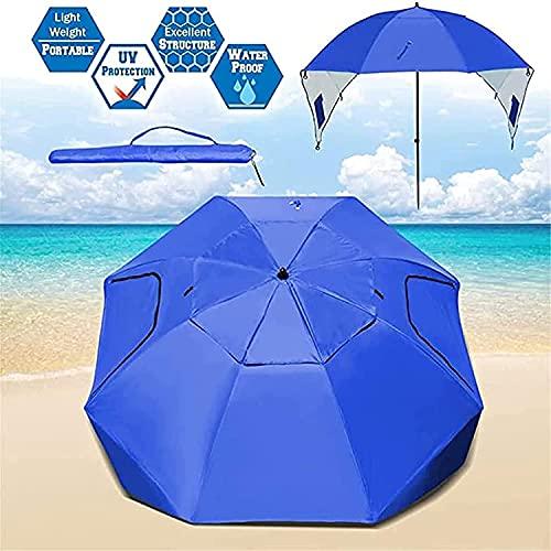 Sombrilla de jardín Sombrillas Sombrilla de Playa Sombrilla para usos múltiples Playa Patio Jardín al Aire Libre con Herramientas de fijación Bolsa de Almacenamiento Un Paraguas Parasol GCSQF21060