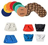 Total Polishing Systems TPSACC Accessory Kit For x-1, TPS Floor Prep Machine Includes 6 Each Diamond Grinding Traps & Polishing Pads
