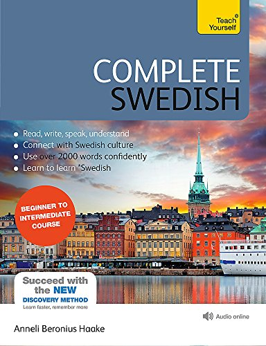 Compare Textbook Prices for Complete Swedish Beginner to Intermediate Course: Learn to read, write, speak and understand a new language with Teach Yourself Complete Language Courses 2 Edition ISBN 9781444195101 by Haake, Anneli