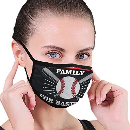 Baseball Sprichwort und Zitat lustige Mund Maske Unisex Erwachsene Polyester Mode niedlichen Gesicht Abdeckung Anti Verschmutzung Staubmaske Wiederverwendbare f