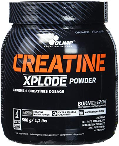 Olimp Creatine Xplode Powder, Orange, 500 g