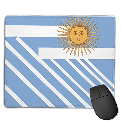 N\A Originalidad Argentina Alfombrilla de ratón Alfombrilla de ratón Linda Alfombrilla de Goma con Borde Cosido Alfombrilla de Oficina Impermeable