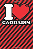 Notebook lined: Caodaism Gifts - Funny I love Caodaism Humor