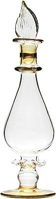 グラススクエア ガラスのプリザーブドフラワー ハーバリウム トワレ 香水瓶 黄 40139 H12.4×直径3cm
