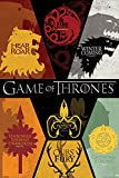 Grupo Erik Editores Game of Thrones Sigils, Papel, Póster Solo, 24-Inches x 36-Inches