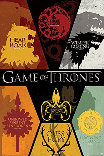 Grupo Erik - Póster Game of Thrones Sigils, 61x91,5 cm