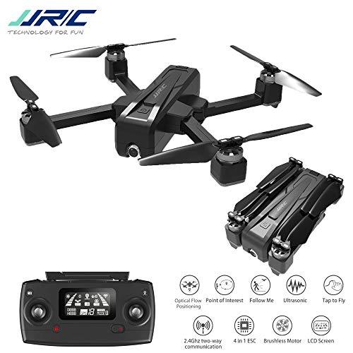 DishyKooker JJRC X11 5G WiFi FPV con 2K Cámara GPS 20mins Tiempo de Vuelo Plegable RC Drone Quadcopter vs f11 b4w sg906 2 Battery
