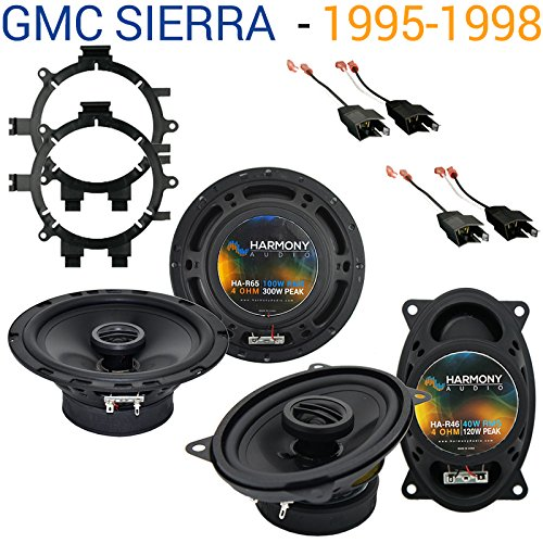 GMC Sierra 1995-1998 Factory Speaker Replacement Harmony R65 R46 Package New