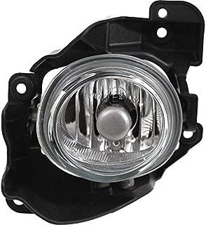 Clear Lens Fog Light For 2010-13 Mazda 3 LH Mazdaspeed Glass lens w/Bulb