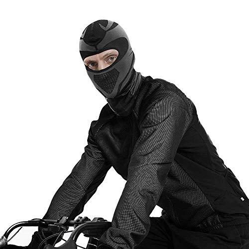 Balaclava a Prueba de Viento Máscara de Invierno, Pasamontañas Gorro Balaclava Máscara Bufanda Prueba de Viento Elásticos en Tejido para Deportivas al Aire Libre, Snowboard, esquí, Ciclismo