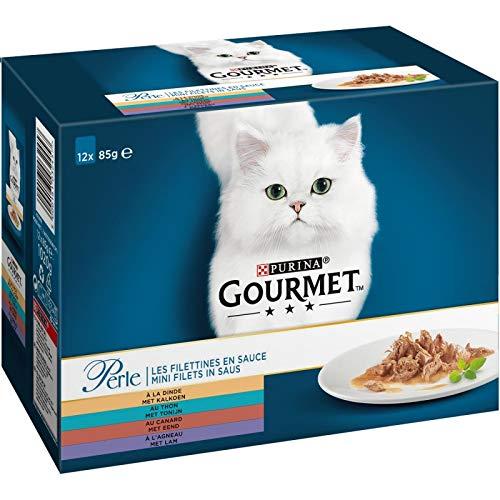 Animales Gourmet – Perlas de pato, pato, cordero 1020G – Lote de 3 – Oferta especial