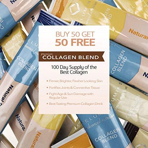 Relumins Premium Collagen Blend Powdered Drink Mix (100 Sachet Multipack)