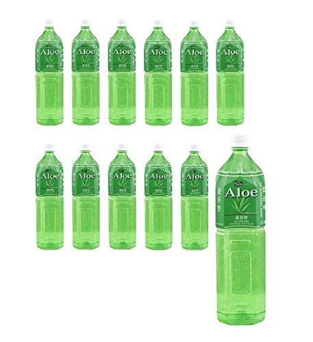 18 L Aloe Vera Drink 12x 1,5L Flasche Aloe Vera Saft AloeVera mit Fruchtfleisch EINWEG