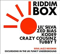 Riddim Box: Excursions in the UK Funky Underground by Soul Jazz Records presents