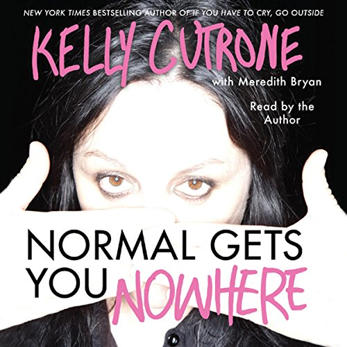 Normal Gets You Nowhere audiobook cover art