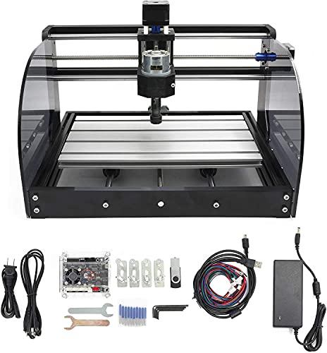 3018 Pro Máquina de grabado CNC, Mini máquina de enrutador CNC de 3 ejes Máquina de fresado de PCB de plástico de madera con control GRBL con controlador fuera de línea