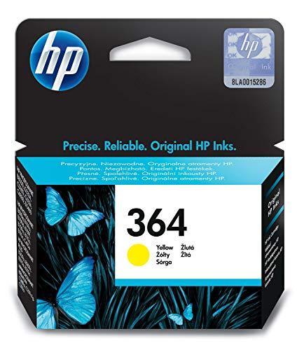 HP Cartucho de tinta amarilla HP 364 364 Ink Cartridges, de 5 a 80% RH, -40 a 70º C, De 5 a 50 ºC, de 5 a 80% RH, 107 x 24 x 115 mm, 0.04 kg (0.0882 libras)