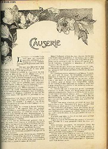 JOURNAL DES OUVRAGES DES DAMES / 2 pochettes a serviette, forme nouvelle - coussin d