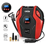 Air Compressor Oasser Tire Inflator Portable Air Inflator Pump Suitable for Cars Bicycles
