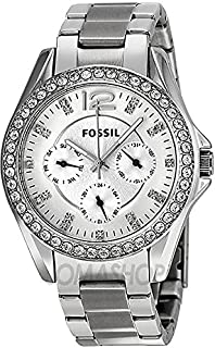 Fossil Riley Multifunction for Women - Analog Dress Stainless Steel Band Watch - ES3202P