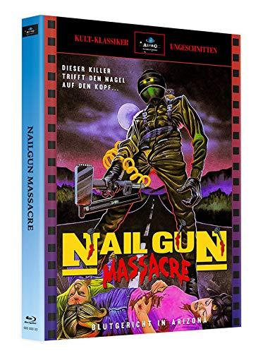 Nailgun Massacre - Mediabook - Cover A - Limited Edition auf 250 Stück (+ Bonus-Blu-ray: Die neunschwänzige Katze)