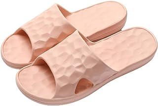 أحذية Chongmu للمرأة/الرجال دش النعال الحمام عدم الانزلاق دش الصنادل المنزل لينة النعال الحمام دش النعال