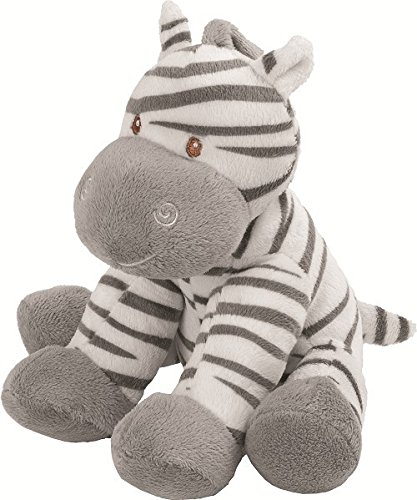 Suki Baby Medium Zooma Soft Boa Plush Toy with Embroidered Accents (Zebra)