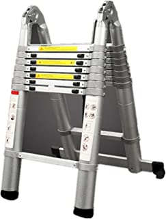 Extension ladder adjustable Ladder Aluminium Extension Portable Multi-Purpose Extendable Ladders for Outdoor Indoor premiu...