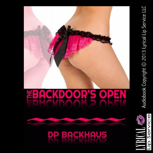 The Backdoor's Open audiobook cover art