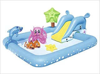 Summer Baby Inflatable Swimming Pool Thickened Marine Ball Pool, Children Basin Bathtub Portable Kids Outdoors Sport Play ...