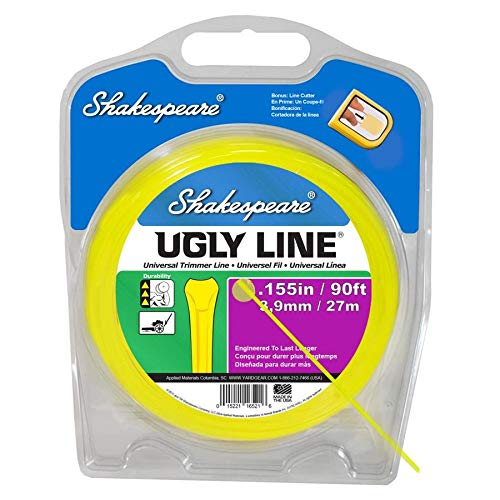 Review Shakespeare 90-ft Spool 0.155-in Spooled Trimmer Line