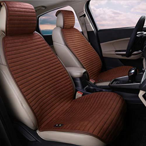 YU-SEAT verwarmde stoelhoezen, 12 V/24 V vrachtwagen, verwarmd autostoelkussen, winter autostoelverwarming constante temperatuurbescherming functie, voor auto, huis, kantoor