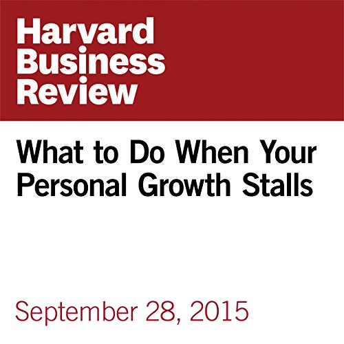 What to Do When Your Personal Growth Stalls audiobook cover art