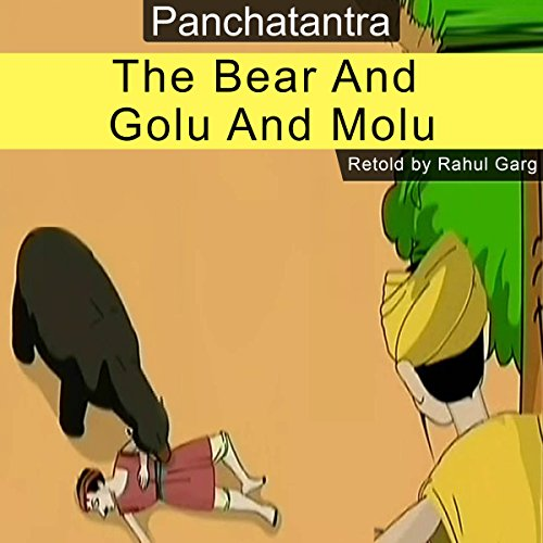 The Bear and Golu and Molu audiobook cover art