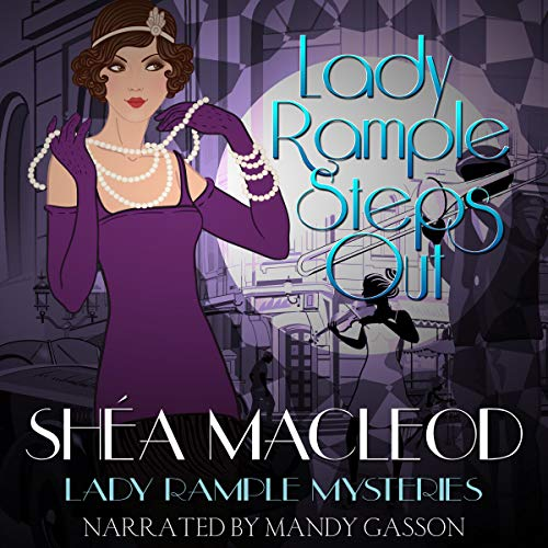 Lady Rample Steps Out audiobook cover art